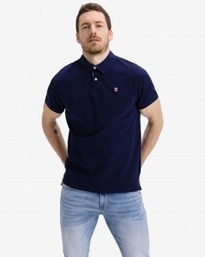 Pepe Jeans Peter Polo triko Modrá