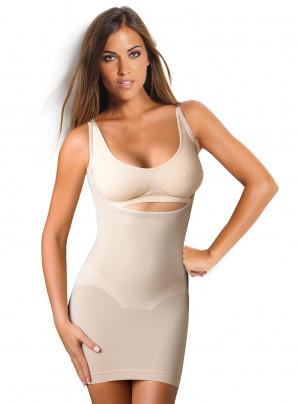 Dámská spodnička formující bezešvá Sottoveste Bodyeffect  Oro - Intimidea Tělo L/XL