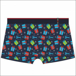 Pánské sváteční vánoční boxerky REDO MIX