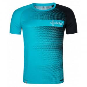 Pánské běžecké tričko Victori-m - Kilpi modrá a černá
