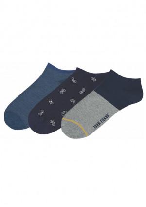 Pánské ponožky John Frank JF3SSEF20S51 UNI