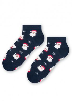 Ponožky Steven 136 002 35/37 Tm. modrá