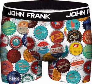 Pánské boxerky John Frank vícebarevné (JFB64)