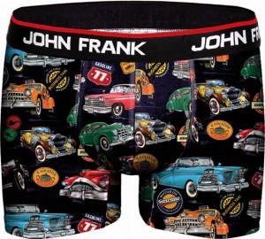 Pánské boxerky John Frank vícebarevné (JFBD211)