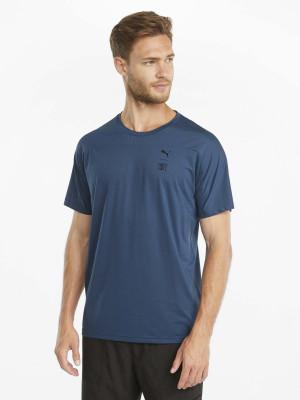 Tmavě modré pánské tričko Puma Train First Mile Tee