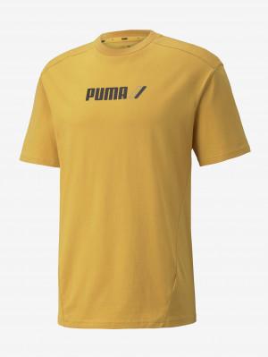 Žluté pánské tričko Puma Rad Cal Tee