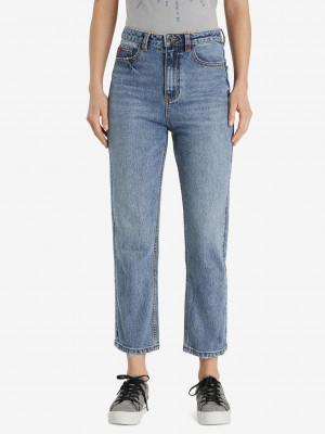 Denim Scarf Jeans Desigual Modrá