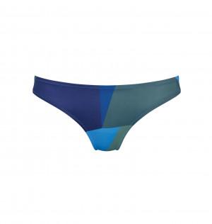 Spodní díl plavek sloggi women Shore Kiritimati Mini - kombinace modré - SLOGGI BLUE - DARK COMBINATION