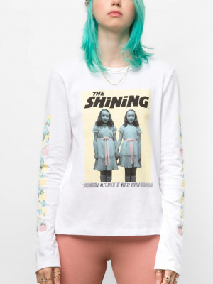 The Shining Triko Vans Bílá