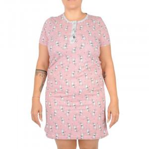 Dámská noční košile La penne růžové (LAP-Y-17253)