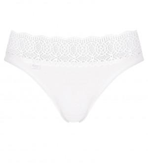 Kalhotky Pure Sense Luxe Tai C2P bílá - Sloggi WHITE