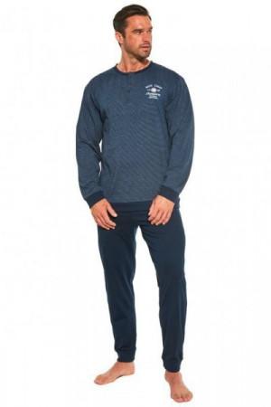 Cornette Base camp 4 113/186 Pánské pyžamo M tmavě modrá