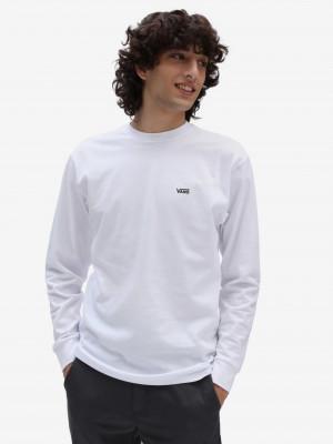 Bílé pánské tričko VANS Left Chest