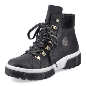 RIEKER, Kotníčková obuv  X8633-01 černá EU