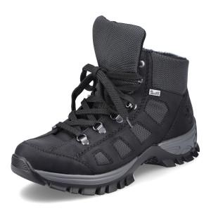 RIEKER, Kotníčková obuv  M9844-00 černá EU