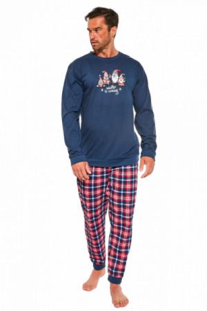 Cornette 115/175 Gnomes Pánské pyžamo S tmavě modrá
