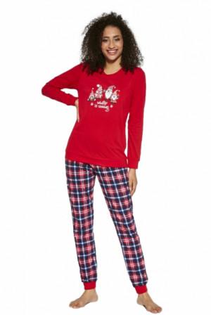 Cornette 671/279 Gnomes Dámské pyžamo M červená