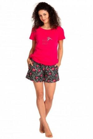 Lama L 1390 PY Dámské pyžamo M růžová