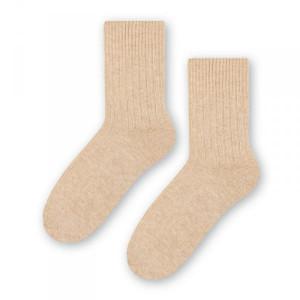 Steven vlněné 093 béžové Dámské ponožky 38/40 béžová