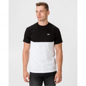 Tričko Mn Colorblock Tee White/Black Vans
