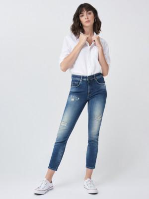 Secret Glamour Jeans Salsa Jeans Modrá