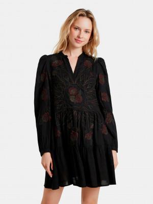 Hortensia Šaty Desigual Černá