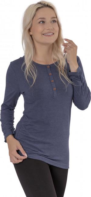 SAM 73 Dámské triko s dlouhým rukávem ADRIANNE Modrá