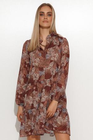 Denní šaty model 157123 Makadamia  40/42