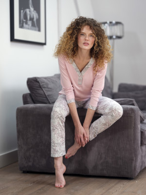 Dámské pyžamo - 579 růžová