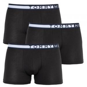 3PACK pánské boxerky Tommy Hilfiger černé (UM0UM01234 0R9)