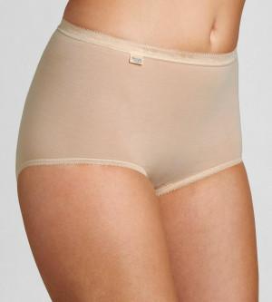 Dámské kalhotky Basic+ Maxi 2P tělové - Sloggi SKIN