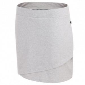 Sukně 4F W H4L19-SPUD002 27M šedý melír