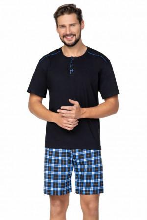 Pánské pyžamo Billy černé černá