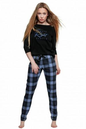 Dámské pyžamo Vicky černé černá