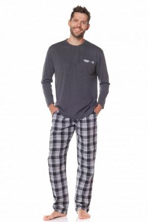Pánské pyžamo Stanley šedé šedá