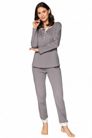 Luxusní dámské pyžamo Debora šedé šedá