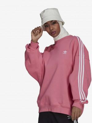 Mikina adidas Originals Růžová