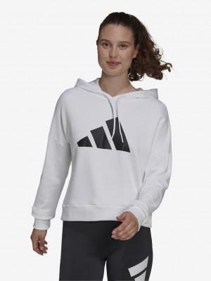 W FI 3B Hoodie Mikina adidas Performance Bílá