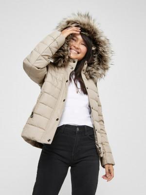 Luna Zimní bunda ONLY Béžová