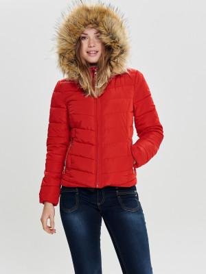 Newellan Zimní bunda ONLY Červená