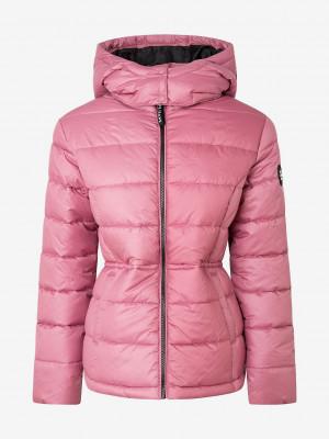 Camille Zimní bunda Pepe Jeans Růžová