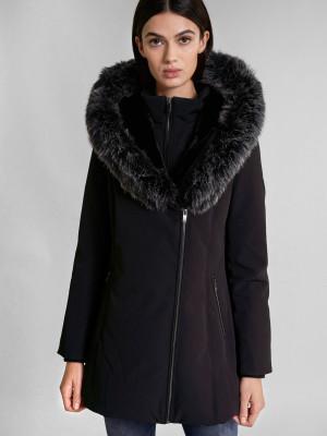 Zimní bunda Salsa Jeans Černá