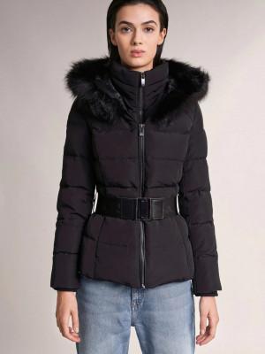 Chamonix Zimní bunda Salsa Jeans Černá