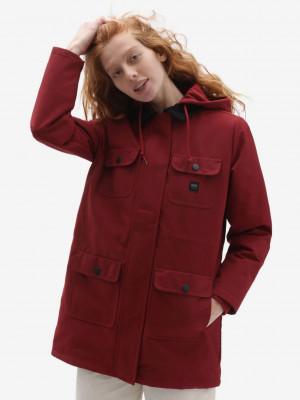 Drill Long Zimní bunda Vans Červená