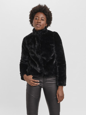 Thea Zimní bunda Vero Moda Černá