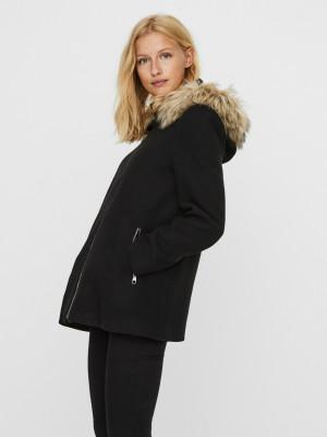 Collar York Zimní bunda Vero Moda Černá