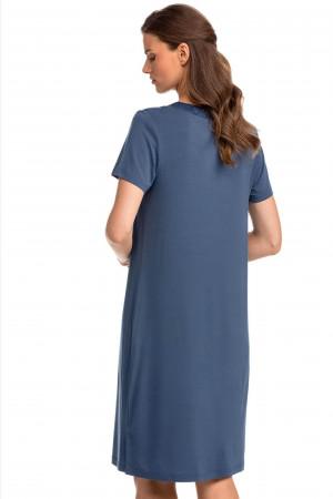 Dámská noční košile 14173 tmavě modrá