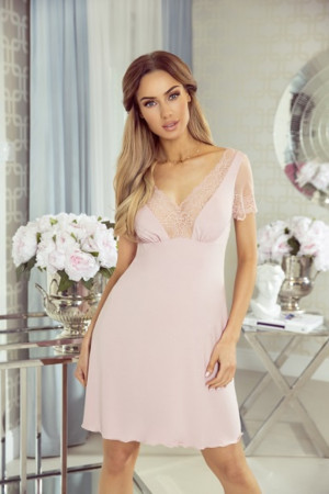 Dámská noční košilka ISMENA - Eldar pudrovo-růžová