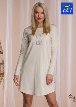 Dámská noční košile LND 941 B21 ecru