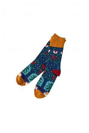Pánské ponožky Vánoční vícebarevná - MORE vícebarevná 39-42